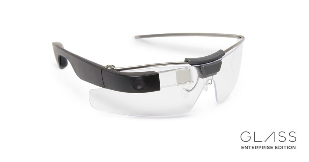 Foto von Googles Glass Enterprise Edition
